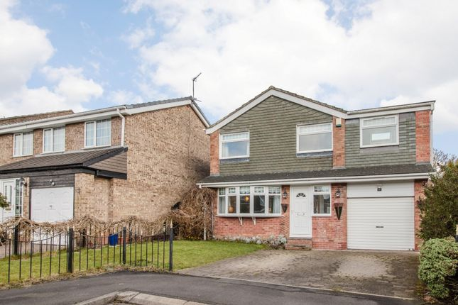 Thumbnail Detached house for sale in Sandown Close, Whitley Bay, Northumberland
