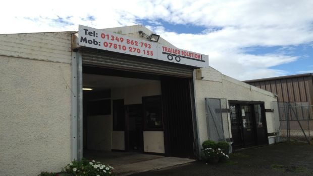 Thumbnail Commercial property for sale in Strathpeffer Road, Dingwall