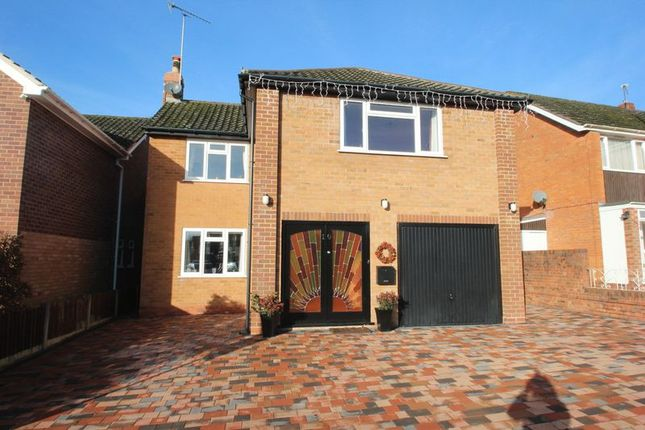 Thumbnail Detached house for sale in Tynsall Avenue, Webheath, Redditch