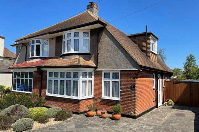 Thumbnail Semi-detached house for sale in Darrick Wood Road, Orpington