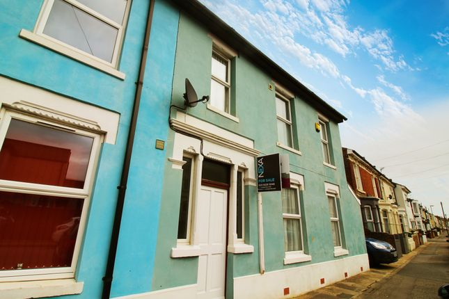 Thumbnail End terrace house to rent in Powerscourt Road, Portsmouth, Hampshire