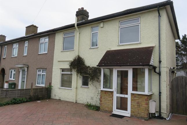 Thumbnail Semi-detached house to rent in Burnell Avenue, Welling, Kent