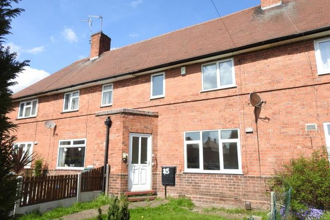 Thumbnail Terraced house for sale in Naworth Close, Old Basford, Nottinghame