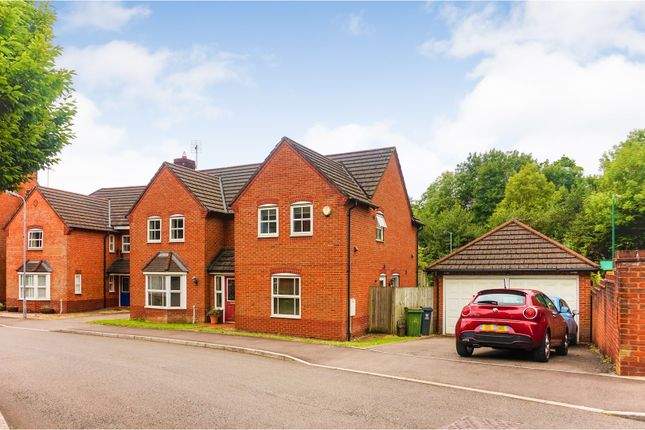 Thumbnail Detached house for sale in Clos Llysfaen, Cardiff