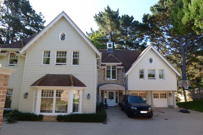 Thumbnail Detached house to rent in Lawrence Drive, Canford Cliffs, Poole, Dorset
