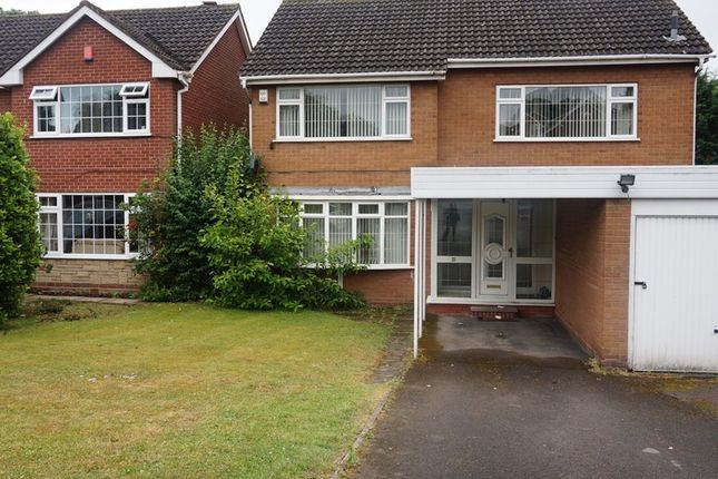 Thumbnail Detached house for sale in The Spinney, Handsworth Wood, Birmingham