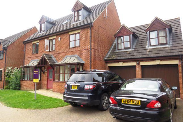 Thumbnail Detached house for sale in Croxen Close, Burton Latimer, Kettering