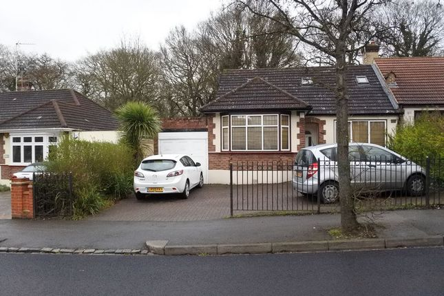 Thumbnail Semi-detached bungalow for sale in The Avenue, London