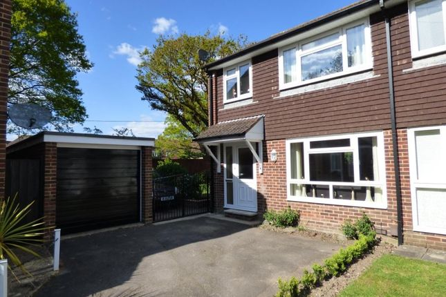 Thumbnail End terrace house for sale in Testbourne Close, Totton