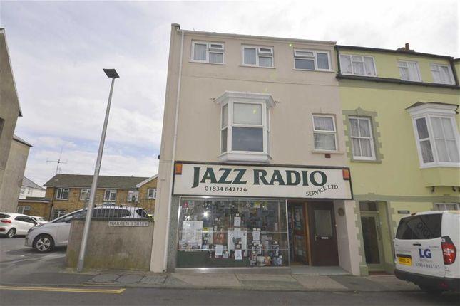 Thumbnail Flat for sale in Ventnor House, 1, Warren Street, Tenby, Dyfed