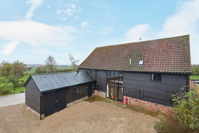 Thumbnail Barn conversion for sale in New House Lane, Poslingford, Suffolk
