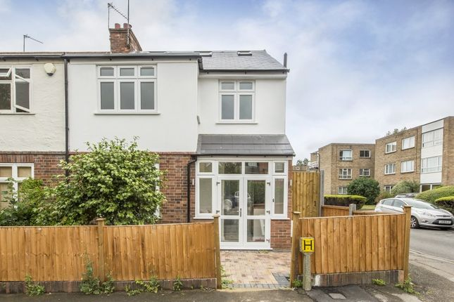 Thumbnail End terrace house to rent in Albert Road, Ealing, London