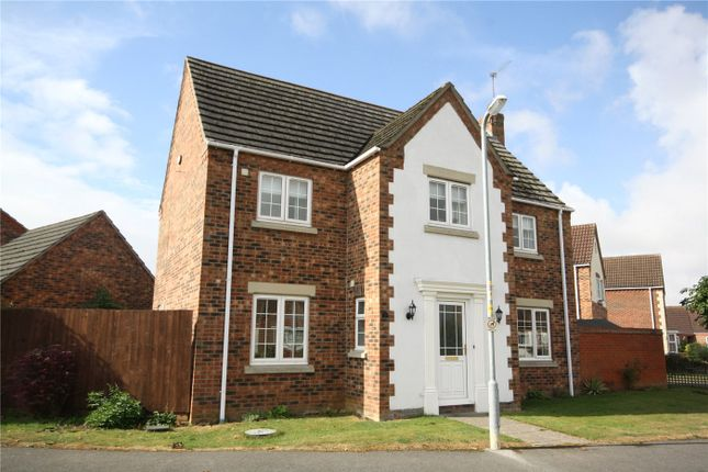 Thumbnail Detached house for sale in Hubbard Close, Heckington, Sleaford, Lincolnshire
