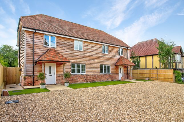 Semi-detached house for sale in The Street, Binsted, Alton