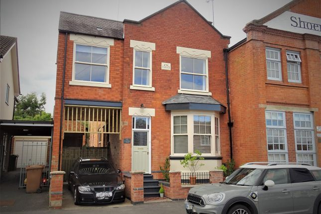 Thumbnail Link-detached house for sale in Hollow Road, Anstey, Leicester