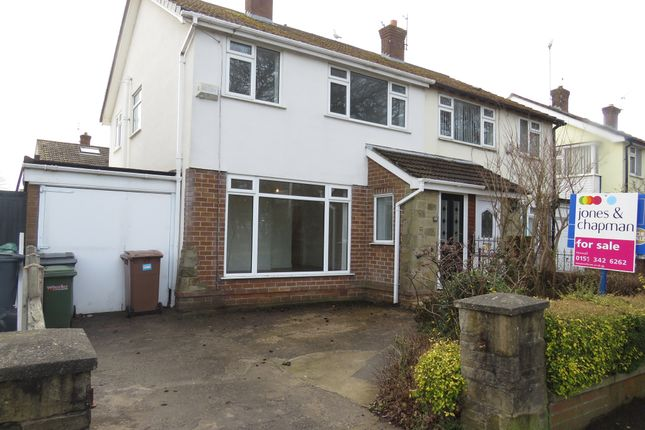 Thumbnail Semi-detached house for sale in Fishers Lane, Heswall, Wirral