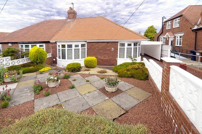 Thumbnail Semi-detached bungalow for sale in Heatherlea Gardens, Above Queen Alexandra Road, Sunderland