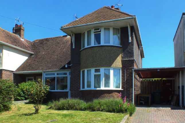 Thumbnail Semi-detached house to rent in Downs Road, Folkestone