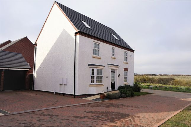 Thumbnail Detached house for sale in St. Mawes Way, Grantham