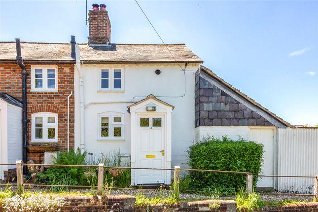 Thumbnail End terrace house for sale in Upper Eddington, Hungerford, Berkshire