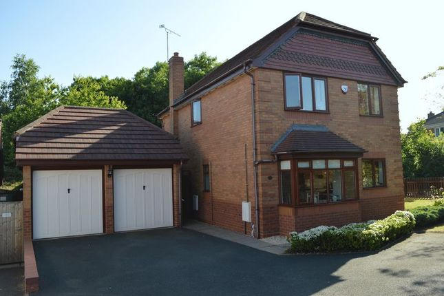 Thumbnail Detached house for sale in Chancery Park, Priorslee, Telford, Shropshire.