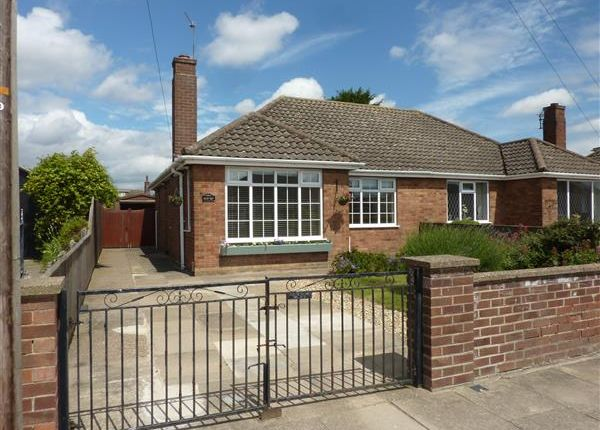 Thumbnail Semi-detached bungalow for sale in Brian Avenue, Cleethorpes