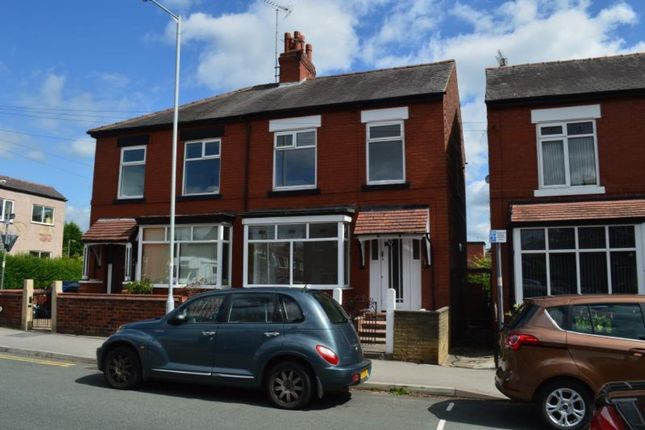 Thumbnail Semi-detached house to rent in Norwood Road, Great Moor, Stockport