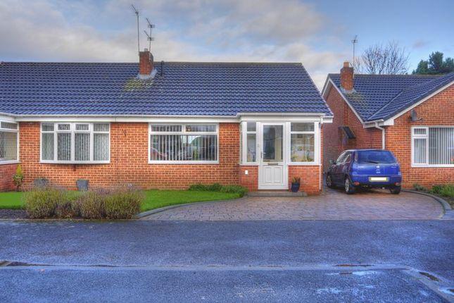 Thumbnail Semi-detached bungalow for sale in Octavia Close, Bedlington