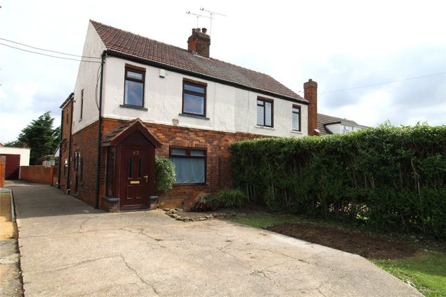 Thumbnail Semi-detached house for sale in Manor Road, Bottesford, Scunthorpe, North Lincolnshire