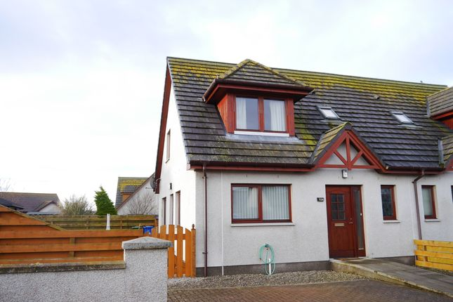 Thumbnail Semi-detached house for sale in 10A Carnegie Place, Portmahomack, Tain