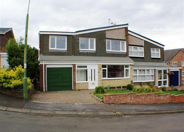 Thumbnail Semi-detached house for sale in Sunnybanks, Lanchester, Durham