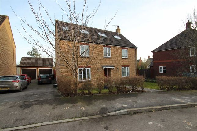 Thumbnail Detached house for sale in Cresswell Drive, Hilperton, Wiltshire