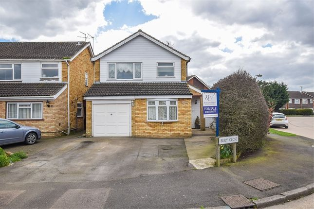 Thumbnail Detached house for sale in Bury Close, Marks Tey, Colchester, Essex