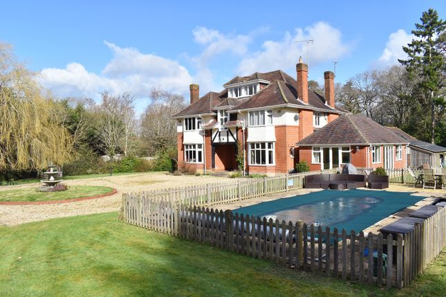 Thumbnail Detached house for sale in Hangersley, Ringwood
