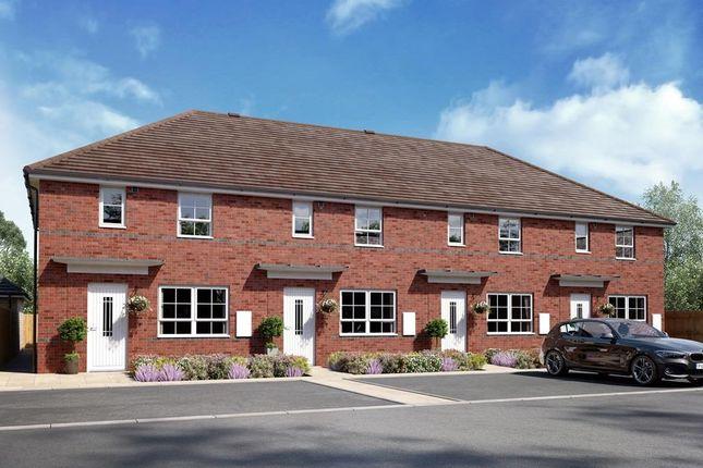 """Thumbnail Terraced house for sale in """"Ellerton"""" at Braeburn Drive, Appleton, Warrington"""