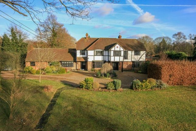 Thumbnail Detached house for sale in Shrubbs Hill, Chobham, Woking