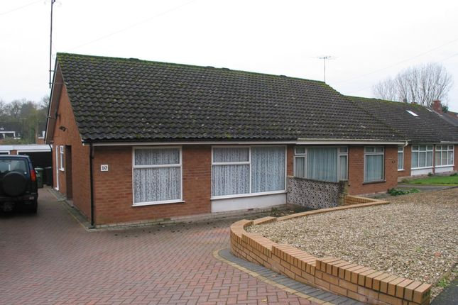Thumbnail Semi-detached bungalow to rent in Northwood Lane, Bewdley