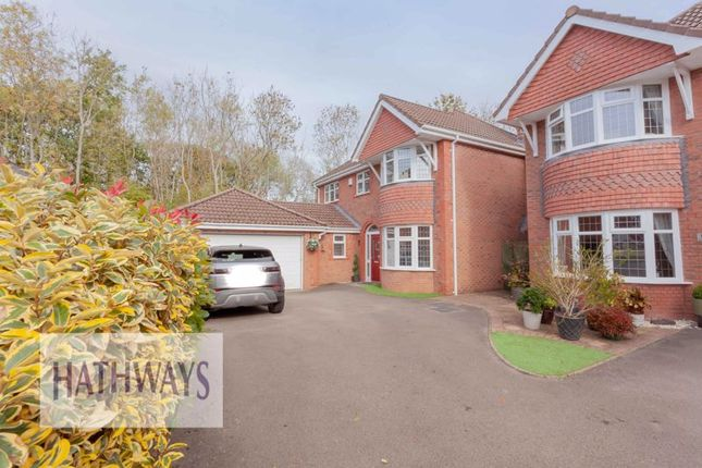 Thumbnail Detached house for sale in Lansdowne Gardens, Llantarnam, Cwmbran
