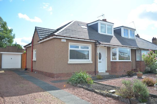 Thumbnail Semi-detached bungalow for sale in Viewpark Road, Motherwell, North Lanarkshire