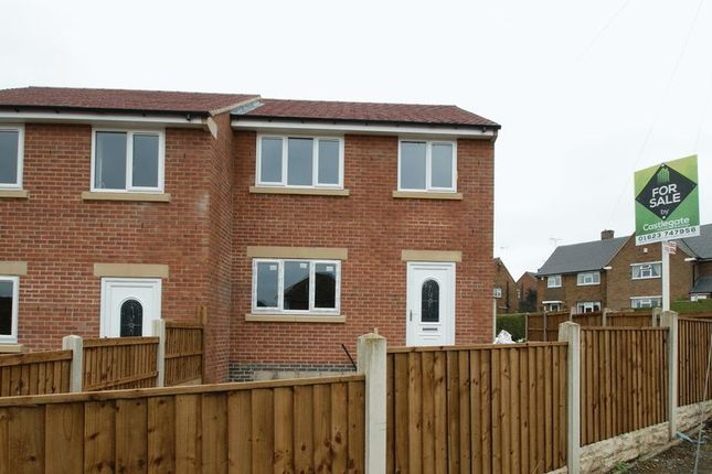 Thumbnail Semi-detached house for sale in Carter Lane, Shirebrook, Mansfield