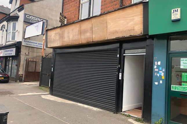 Thumbnail Retail premises to let in Stratford Road, Sparkhill