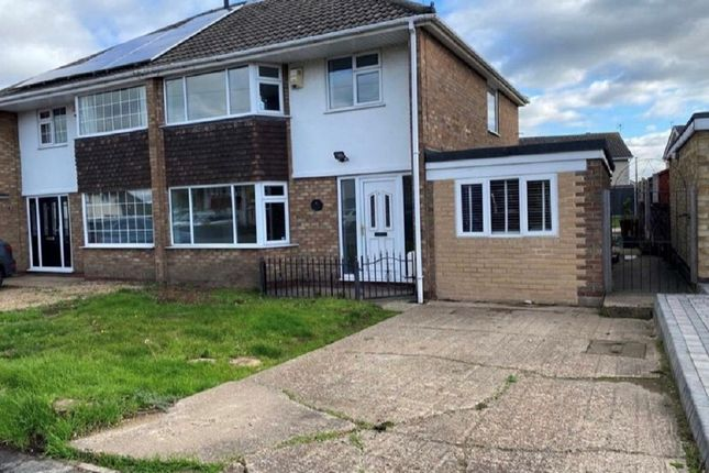 Thumbnail Semi-detached house for sale in Nunthorpe Close, Hatfield, Doncaster