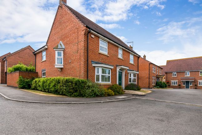 Thumbnail Detached house for sale in Bancroft Close, Wootton, Northampton