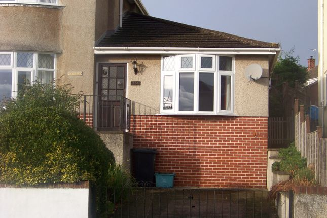 Thumbnail Semi-detached bungalow to rent in Brendon Avenue, Weston-Super-Mare