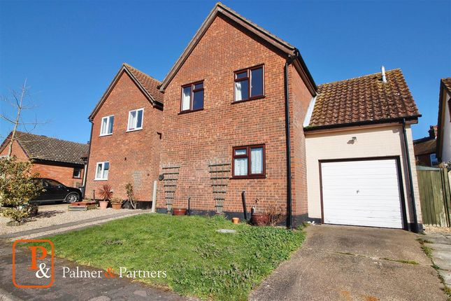 Thumbnail Detached house for sale in Ha'penny Field, Holbrook, Ipswich