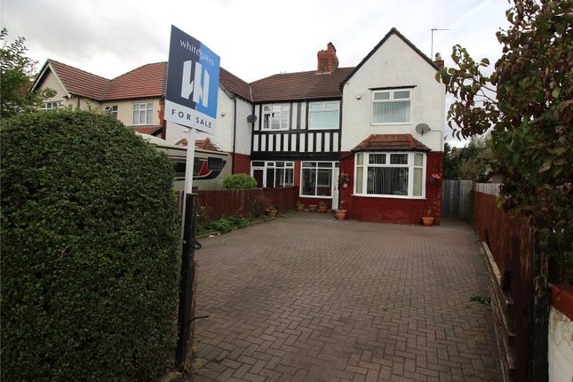 Thumbnail Semi-detached house for sale in Prenton Road West, Birkenhead, Merseyside