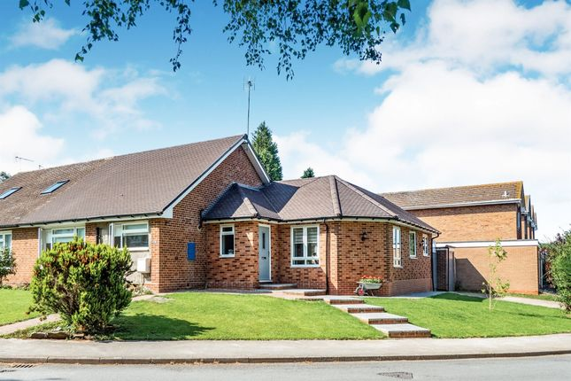 Thumbnail Semi-detached bungalow for sale in Mereside Way, Solihull