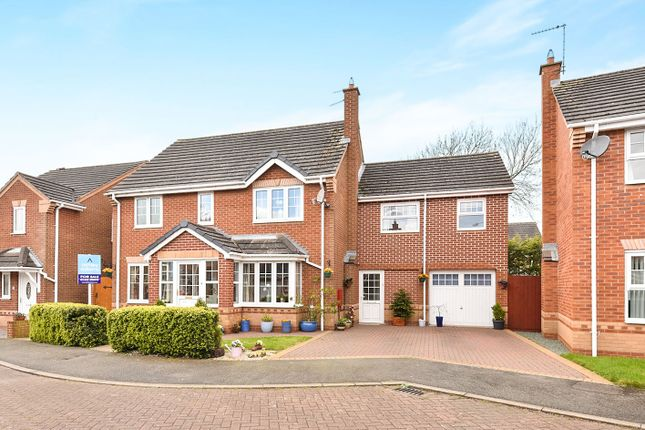 Thumbnail Detached house for sale in Rodney Close, Off Lucas Lane, Hilton