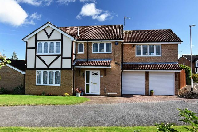 Thumbnail Detached house for sale in Medway Drive, Wellingborough