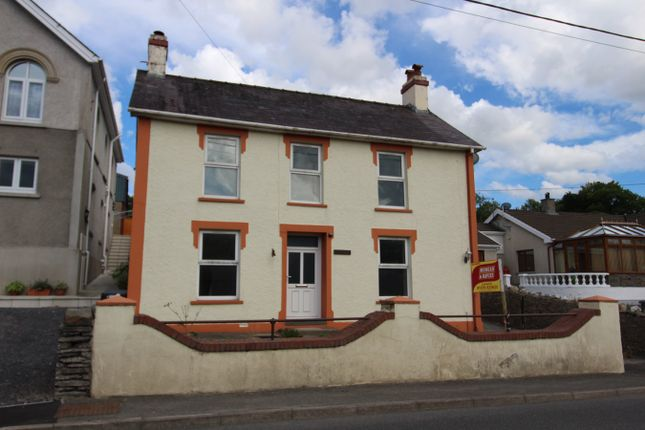 Thumbnail Detached house for sale in Pencader, Carmarthenshire